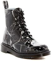 Dr. Martens Pascal Patent Marble Print Boot