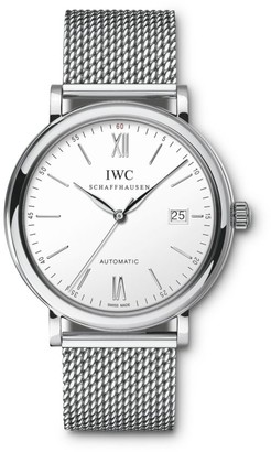 IWC Portofino Stainless Steel Mesh Bracelet Watch