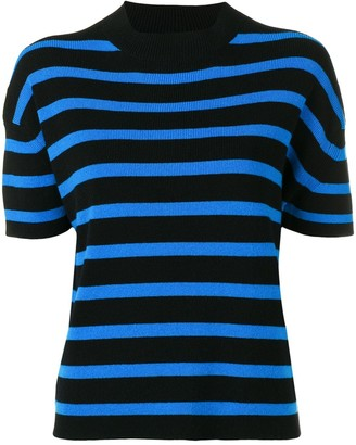 Barrie Cashmere Short Sleeve Top