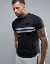 Ellesse Sport Compression T-Shirt With Reflective Panel