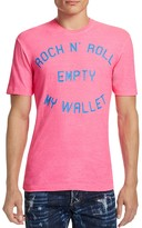 DSQUARED2 Empty My Wallet Graphic Tee