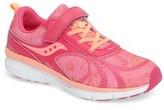 Saucony Toddler Girl's Velocity A/c Sneaker