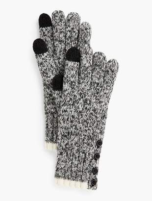 Talbots Marled Winter Touch Gloves