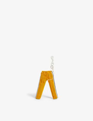 Palm Angels Mini track pants keychain
