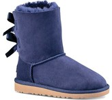 UGG Girls' Bailey Bow Big Kids Boot Solid Peacoat Size 5 M