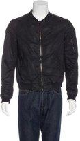 Balmain Coated Zip Jacket
