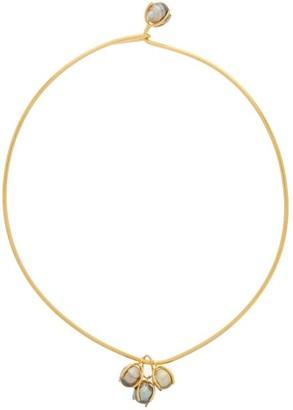 Ryan Storer Fiji Pearl & 14kt Gold-plated Choker - Gold