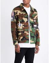 Billionaire Boys Club Military Overshirt Cotton-blend Shirt