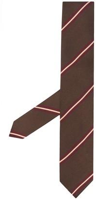 Lardini Striped Silk Tie