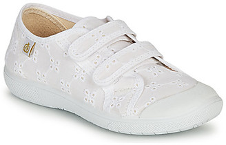 Citrouille et Compagnie MELVINA girls's Shoes (Trainers) in White
