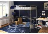 DHP Full Metal Loft Bed, Multiple Colors and Sizes