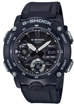 G-Shock Men's Analog-Digital Black Resin Strap Watch 48.7mm