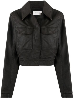 Lemaire Structured Denim Jacket