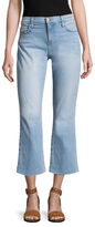 Current/Elliott The Kick Flare Cropped Jean