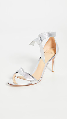 Alexandre Birman Clarita Metallic Sandals 85mm