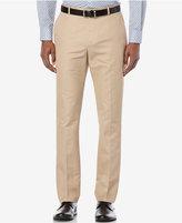 Perry Ellis Men's Lumark Solid Slim Pants