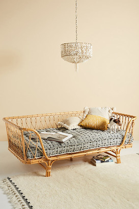 Anthropologie Venus Rattan Daybed By in Beige Size ALL