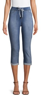 No Boundaries Juniors? Pull-On Dorm Crop Capri Pants