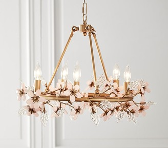 Pottery Barn Teen Grace Flower Chandelier