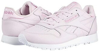 Reebok Classic Leather (Black/Neon Red/Black) Women's Shoes