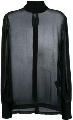 8pm Roll Neck Blouse