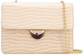 Loeffler Randall Anima snakeskin-effect crossbody bag