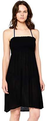 Iris & Lilly Women's Strapless Smock Cover-Up Dress,(Manufacturer size: Medium)