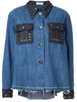Sonia Rykiel 'Domino denim shirt'