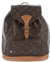 Louis Vuitton Monogram Mini-Montsouris Backpack
