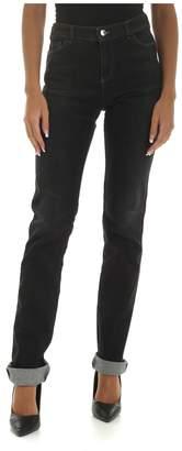 Emporio Armani High Waisted Black Denim Jeans