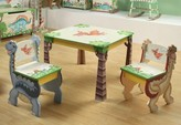 The Well Appointed House Teamson Design Child's Dinosaur Table and Chairs Set-ON BACKORDER UNTIL LATE DECEMBER 2016
