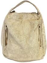 Bryna Nicole Serrano Distressed Leather Oversized Hobo Bag