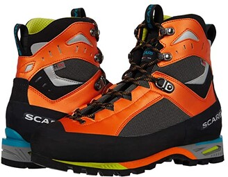 Scarpa Charmoz (Shark/Orange) Men's Shoes