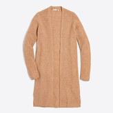 J.Crew Factory Ribbed car coat sweater