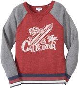 Splendid Pullover Sweatshirt (Toddler/Kid) - Dark Red-7