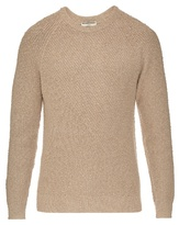 Balenciaga Textured Cotton-blend Sweater