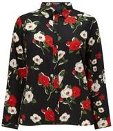 Fashion Union Curve Floral Print Shirt
