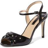 Dorothy Perkins Womens Online Exclusive Black 'Scarlett' Sandals- Black