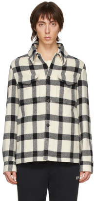 Ami Alexandre Mattiussi Off-White Wool Shirt Jacket