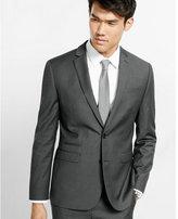 Express slim photographer micro stripe suit jacket