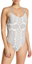 Rip Curl Solstice Strappy Print One-Piece Swimsuit