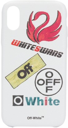 Off-White White Swans iPhone XR case