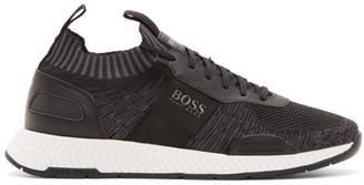 BOSS Black Titanium Run Low-Top Sneakers