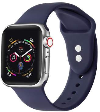 POSH TECH Eclipse Blue Silicone 38mm Apple Watch 1/2/3/4 Band