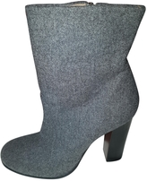 Celine Grey Ankle boots
