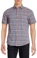 Hudson North Wear Plaid For Dad Short Sleeve Shirt
