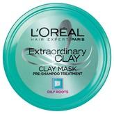 L'Oreal Hair Expert/Paris Extraordinary Clay Mask Pre Shampoo Treatment - 8.5 oz
