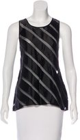 L'Agence Striped Sleeveless Top w/ Tags
