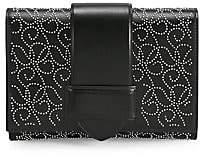 Alaia Women's Simone Studded Leather Clutch