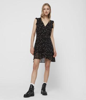 AllSaints Lana Hearts Dress